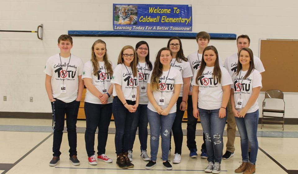 Picture of Caldwell County 4-H Teens Against Tobacco Use Club