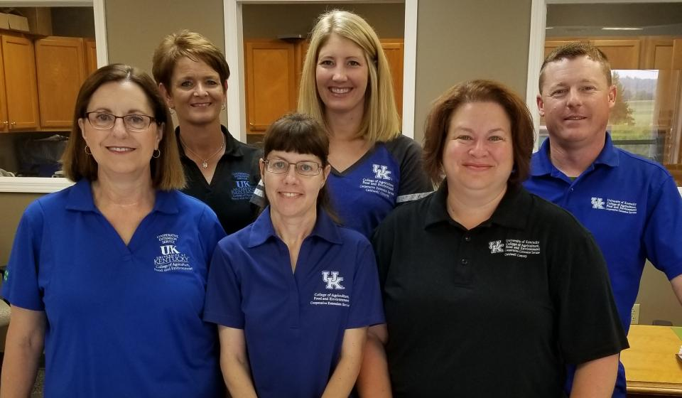 Picture of all staff members